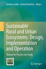 Sustainable Rural and Urban Ecosystems
